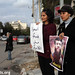 Solidarity action with Khader Adnan, Gaza city, 16.02.2012