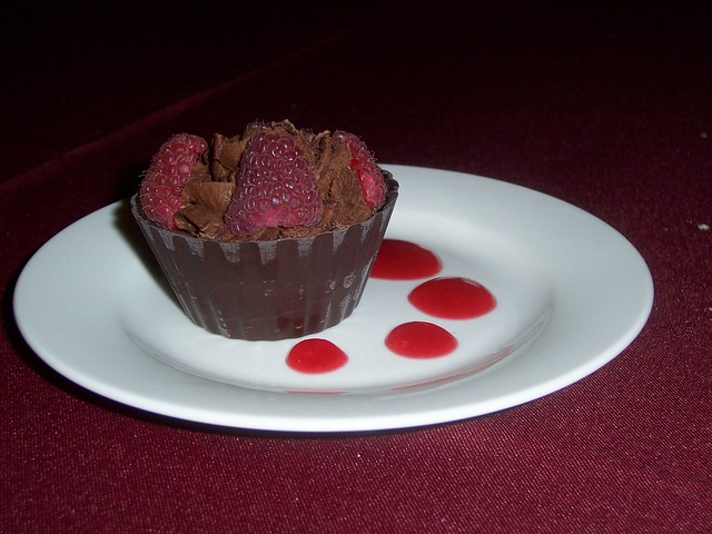 Raspberry Chocolate Mousse Cup | Flickr - Photo Sharing!