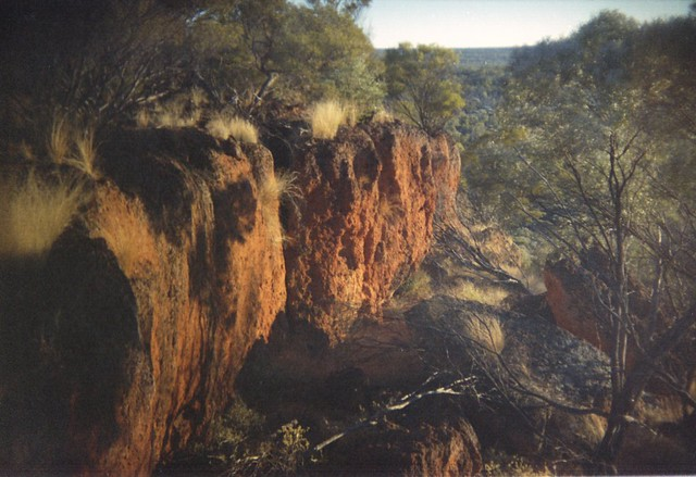 Cliff in outback