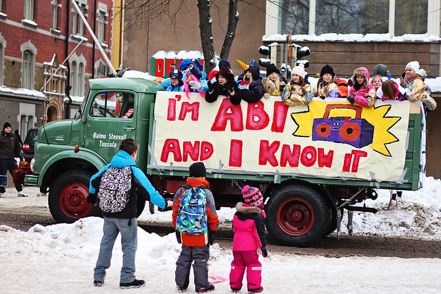 kids see parade