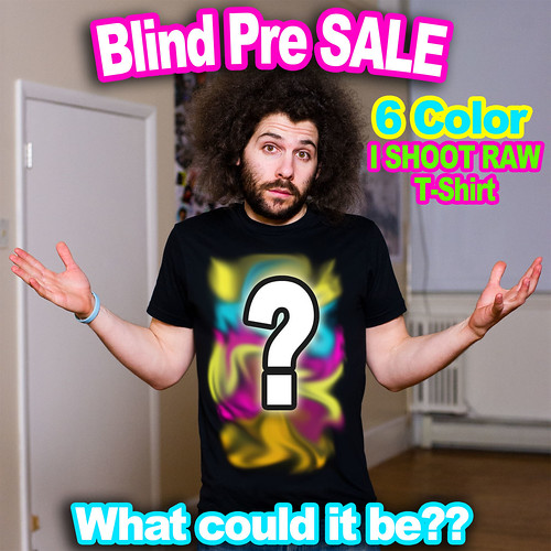 I Shoot RAW Blind Pre Sale