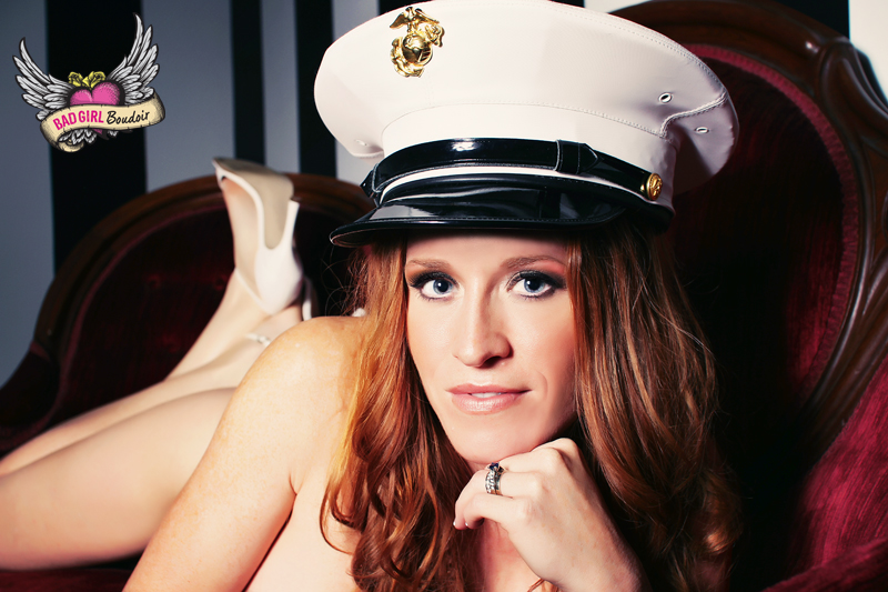 Military Boudoir Photo // Marines, Army, Navy, Air Force, Coast Guard Sexy Photography