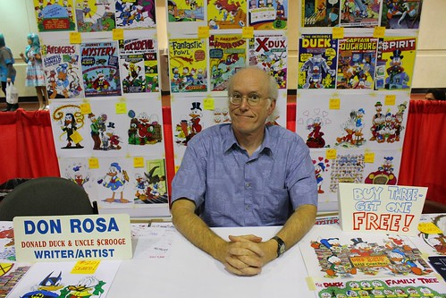 Don Rosa - MegaCon 2012