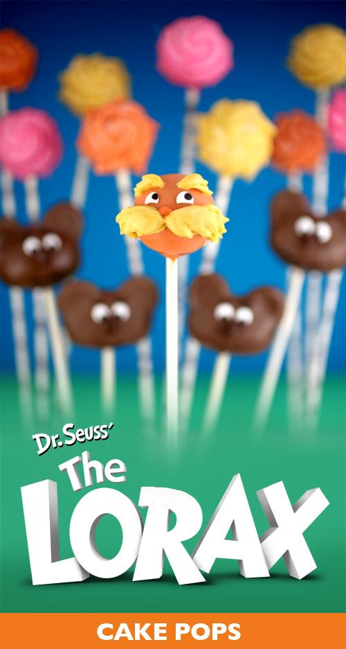 Dr Seuss Cake Pops