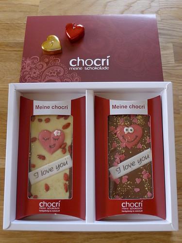 Herzliche Schokolade