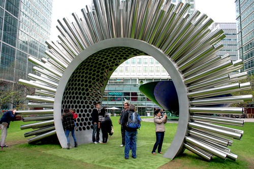 Aeolus at Canary Wharf