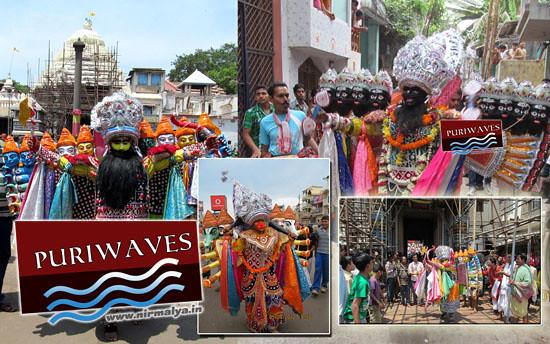 Sahi Jatra – Ravan, Hanuman, Lord Bishnu
