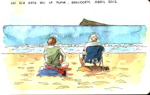 Un dia en la playa I