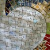 For a while there I thought the smalti was a mistake, but now I like this #mosaic again.