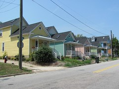 Shotgun Houses--Oakwood Cottages