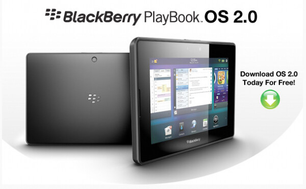 BlackBerry PlayBook OS 2.0 Download