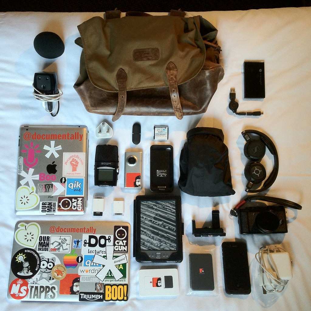Contents of my Tech Bag