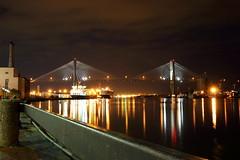 Savannah Riverfront Night