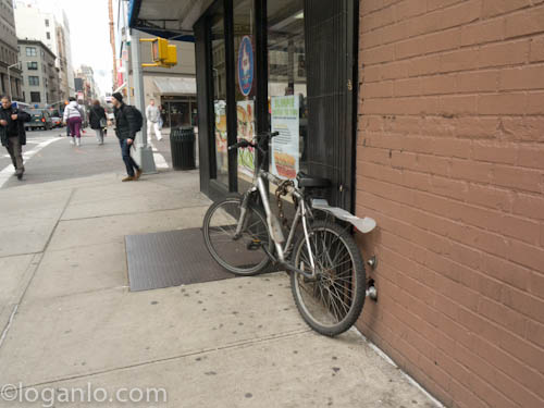 Bicycle in NYC