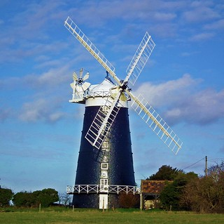 Burnham Overy Staithe Tower Windmill