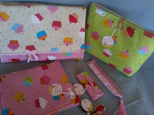 Kit case... para notebook!! by ♥Paninhos em forma de amor♥