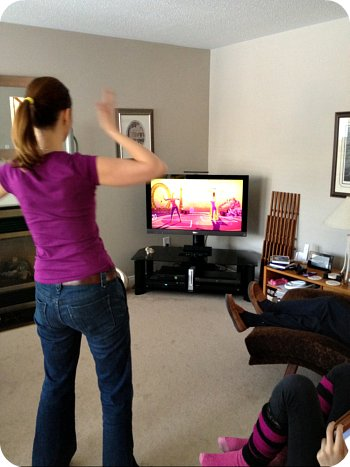 Me and the Xbox Kinect!