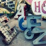walking tours in Las Vegas - Neon Boneyard