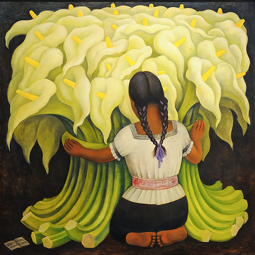 Diego rivera calla flower seller flickr photo sharing for Diego rivera s most famous mural