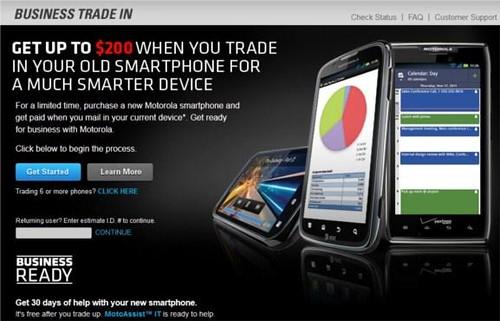 Motorola Business Trade-in