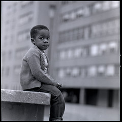 child in Pruitt-Igoe (by: St Louis Public Schools, press image for The Pruitt-Igoe Myth)