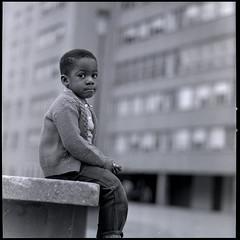 child in Pruitt-Igoe (by: St Louis Public Schools, press image for The Pruitt-Igoe Myth)