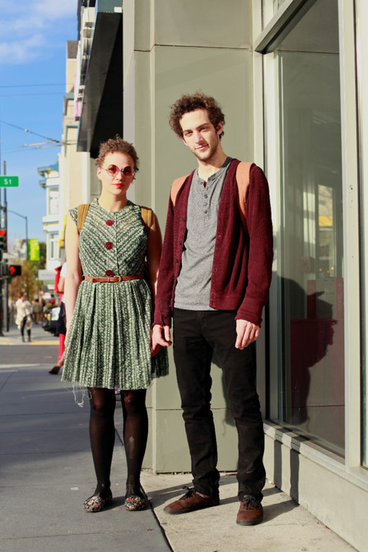 rachel and matthew san francisco street fashion style