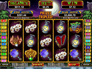 Count Spectacular Free Spins