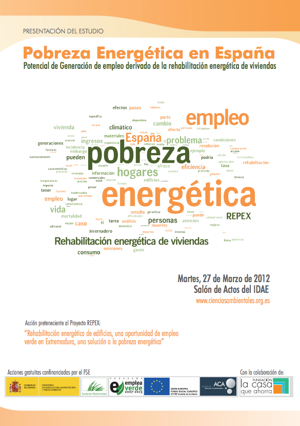 Programa Provisional Estudio de Pobreza Energética