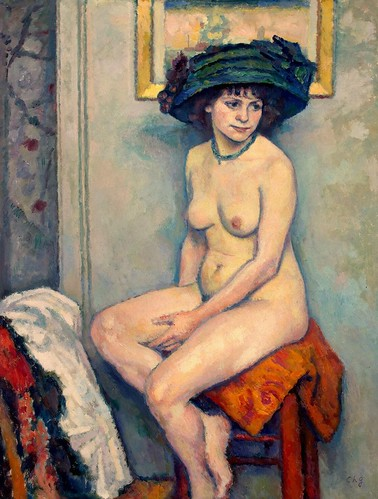 Charles Guerin - Nude [c.1910] by Gandalf's Gallery