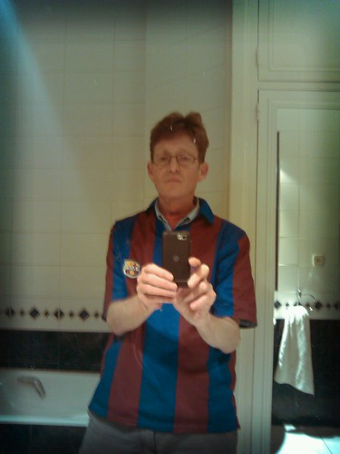 Still wearing my Barca shirt with pride by simonharrisbcn
