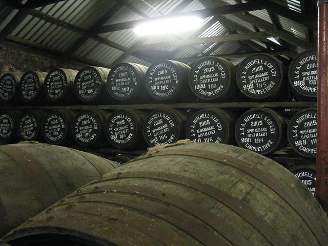 Springbank distillery - 2005 casks