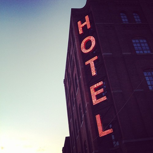 The new Wythe Hotel in my 'hood.