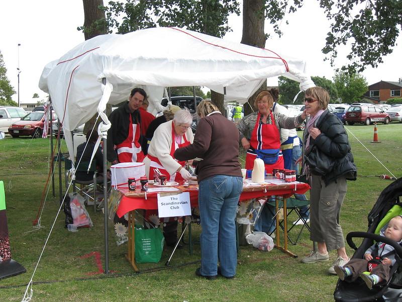 Scandinavian food stall