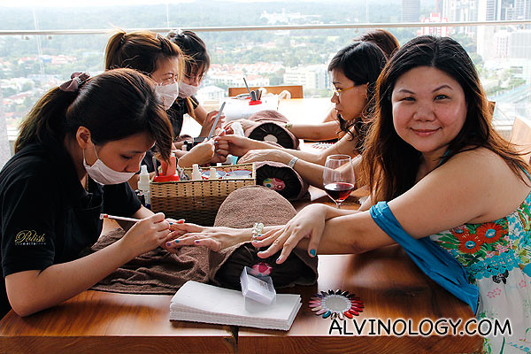 Nails spa for the ladies