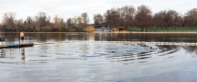 Hyde Park, Serpentine Lido