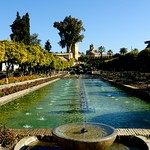 Gardens of The  Royal Alcazar (Palace), Cordoba,Spain