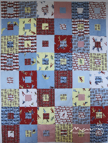 Sock Monkey quilt top for Siblings Together