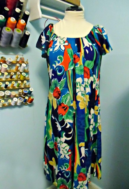 Hawaiian Dress Recon - before