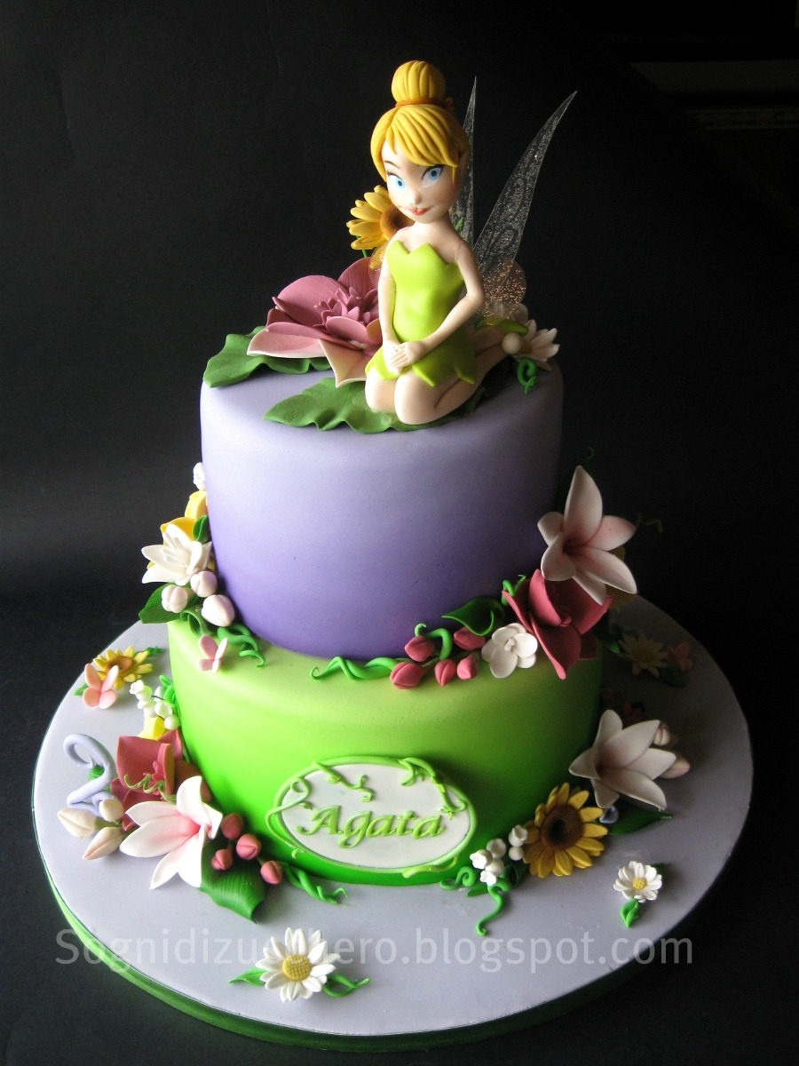 Tinkerbell Cake Images Photos : Tinkerbell cake Flickr - Photo Sharing!
