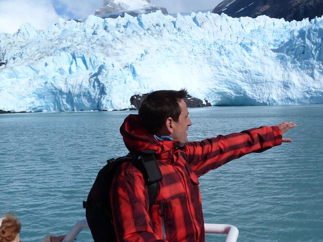 Sele en los glaciares argentinos