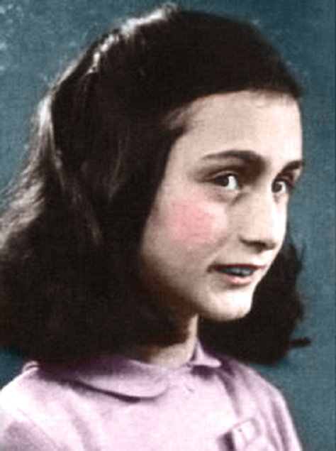 Anne Frank In Color   Flickr - Photo Sharing!
