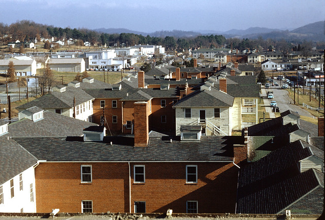 Roof Tops City of Oak Ridge  DOE photo by Ed Westcott