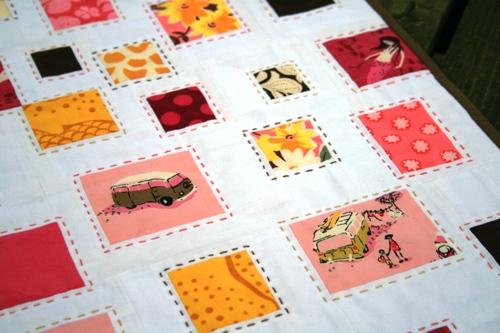 confetti mini quilt