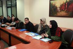 زيارة فريق مايكروسوفت- الأردن الى الكلية الجامعية