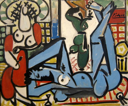 San Francisco - SoMa: SFMoMA - Pablo Picasso's Les femmes d'Alger