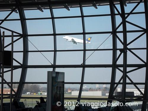 Decollo Lufthansa
