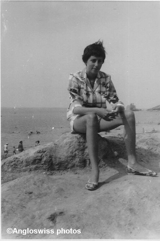 Me sitting on stone
