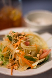 TAP Thai - green papaya salad