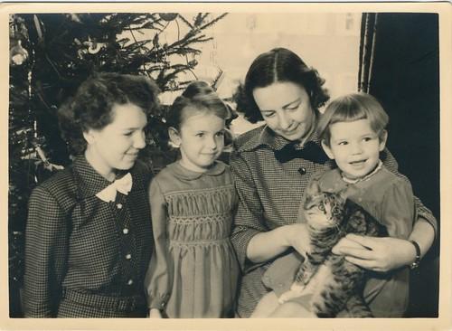 familiefoto met poes j 50